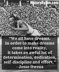 Jesse Owens Quotes Fascinating In Their Words Jesse Owens History By Zim