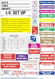 Iv Medication Medical Triarc Medical Medical Labelling