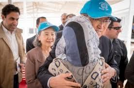 Пан Ги Мун посетил лагерь сирийских беженцев в Иордании   Политика ...