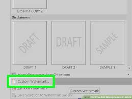 Word Background Template 5 Easy Ways To Add Backgrounds In Word Wikihow