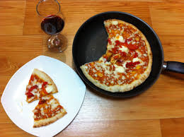 How To Make A Frozen Pizza How To Fry Frozen Pizza Tiainkorea