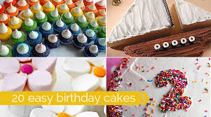 cool easy cakes to make at home. Brilliant Home Easy To Decorate Birthday Cakes  Fun And Simple Ideas And Cool Easy Cakes To Make At Home