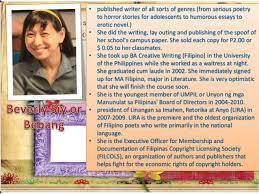 philippine literature from to present 5