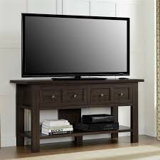 tv stand with casters. Classic 55 Inch Tv Stand Versatile Accent Console Table With 2 Associated Casters