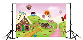 candy wonderland background. Fine Candy Yeele 9x6ft Gingerbread House Photo Backdrops Vinyl Dessert Sweet Cookie  Candy Biscuit Cream Food Cartoon Wonderland With Background R