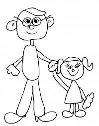 Small Picture Father and Daughter Coloring Pages Happy Mothers Day 2017