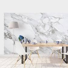 Carrara Marmeren Behang Moonwallstickerscom