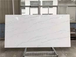 marble looking quartz. Plain Looking Calacatta Marble Look Quartz Stone Slab Thin Vein For Kitchen And Vanity In Looking T