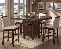 counter height dining chairs coaster distress walnut counter height dining room set with wood accent chairs coaster with pastel color chair high top dining