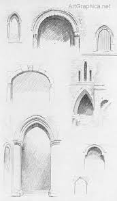 how to draw arches arches in perspective free art book