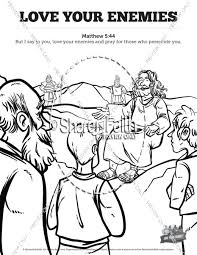 Small Picture Sunday School Coloring Pages and Bible Coloring Pages for Kids