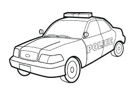 Police Car Coloring Pages Cool Gallery Police Car Coloring Page