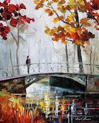 landscape paintings painting antition palette knife landscape oil painting on canvas by leonid afremov