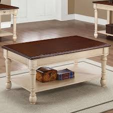 decor of two tone coffee table occasional set coaster