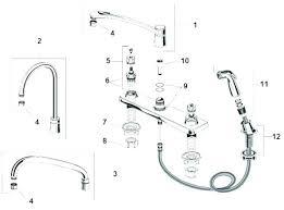 faucet kitchen sink repair also delta parts with sprayer leak