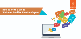 Write A Great Welcome Email To Your New Employees