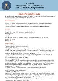 Marketing Resume Buzzwords Therpgmovie