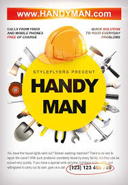 handyman business download the handyman business flyer template for photoshop