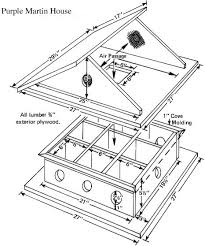 Free Purple Martin Bird House Plans  Birdwatching-Bliss.com