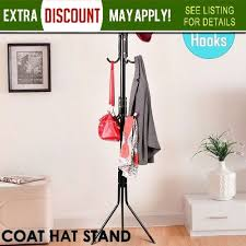 12 Hook Coat Rack Impressive 322 Hook Coat Hanger Stand 32tier Hat Clothes Rack Metal Tree Style