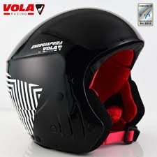 Design Ski Helmet Vola 2017 Design Adult Fis Ski Helmet Ce Astm Certificate Integrally Molded With Goggle Retainer Removable Comfotable Padd