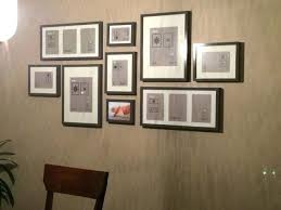 office wall frames. Office Wall Decor Frames Photo Frame Gallery Layout Ikea Ribba In Grey E