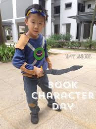 a couple of weeks ago l s school held a book character day the children were encouraged to go to school in their most favorite book character