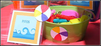Beach Ball Decoration Ideas teen kid pool party In This Little Corner 89