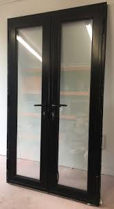 anglian black aluminium french patio doors 1200 mm x 2070 mm 1 of 12 see more