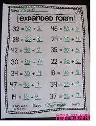 Expanded Form Exponential Of Decimals To Worksheet And Standard ...