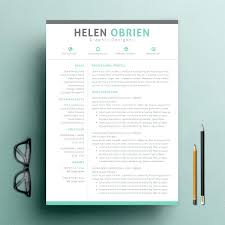 One Page Resume Template Fascinating 60 Page Resume Template Word Two Column Resume Template One Page