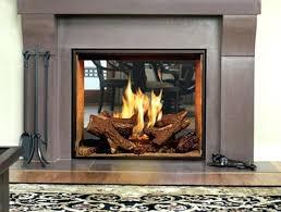 gas fireplace insert with er s fan installation log gas fireplace insert