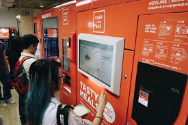 Hot Food Vending Machine Malaysia Extraordinary ChefInBox Get Filling Cheap Comfort Food From This Vending