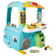 Fisher Price Laugh And Learn Servinu0027 Up Fun Food Truck