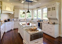 kitchens ideas with white cabinets. Impressive White Kitchen Cabinets With Granite Countertops Kitchens Ideas