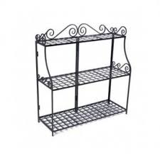 tiered iron plant stand. Panacea Forged Tier Plant Stand Wrought Iron Planter Garden Inside Tiered