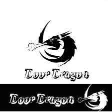Bandit Logo Design Elegant Playful Fitness Logo Design For Door Dragon By
