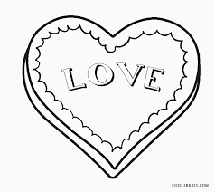Free printable valentine's day coloring pages. Free Printable Heart Coloring Pages For Kids