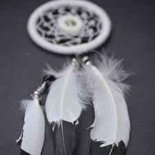 Dream Catcher For Car Mirror Unique Feather Decor Dream Catcher MobileBlack From BlueDreamcatcher