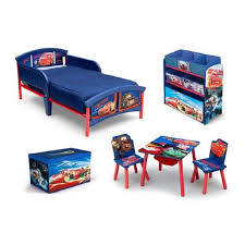 toddler beds for boys toddler bedroom set boys disneypixar cars room in a box with