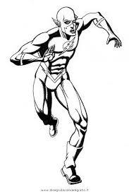 Disegno Flash33 Personaggio Cartone Animato Da Colorare