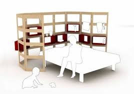 bedroom modular furniture. mother and baby modular bedroom furniture design parawall by hanna anne germany