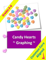 Valentines Candy Heart Graphing Lesson Plan | Classroom Caboodle