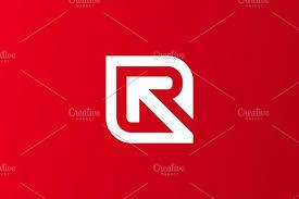 Creative Cover Letter Inspiration Research Marketing Letter R Logo Logo Templates Creative Market