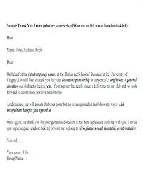 Sample Thank You Letter For Donation To Church Request Email