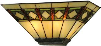 stained glass wall sconces beige green avocado sconce lighting loading zoom stained glass wall sconces