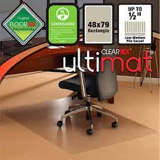 desk chair mats for plush carpet. floortex chair mat for low/medium pile carpet 48\ desk mats plush