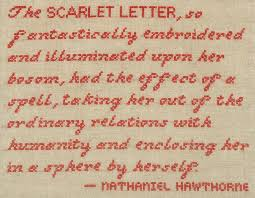 Scarlet Letter Quotes Inspiration Follow It Down Scarlet Nathaniel Hawthorne And Books