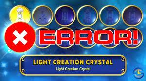 Light Creation Crystal Skylanders Imaginators Light Creation Crystal Error