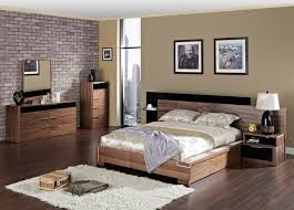 modern bedroom furniture. Best Modern Wood Bedroom Furniture Sets With Extra Storage For Contemporary Interior Brick Wall C